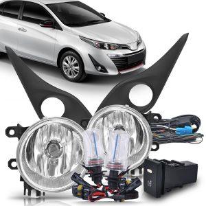 Kit farol de milha Toyota Yaris 2018 2019 + lâmpada xênon