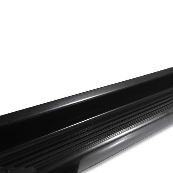 Estribo Lateral Hilux 2016 2017 2018 2019 Aluminio Modelo Original Preta