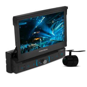 DVD player retrátil Pósitron + câmera de ré