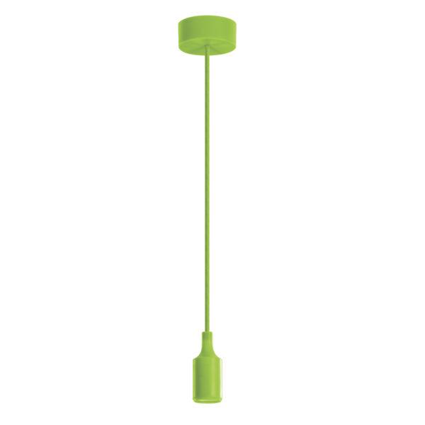 Luminária Pendente em silicone 40W Verde