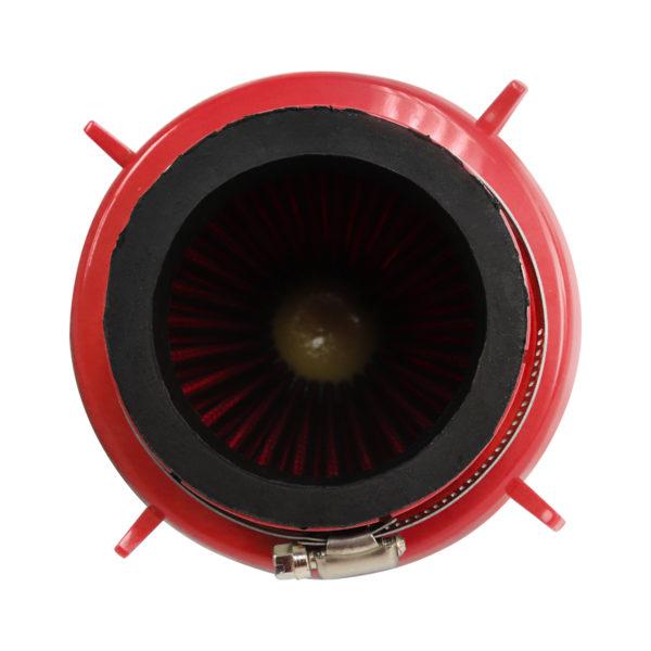 Filtro De Ar Torpedo Duplo Fluxo Esportivo - Vermelho