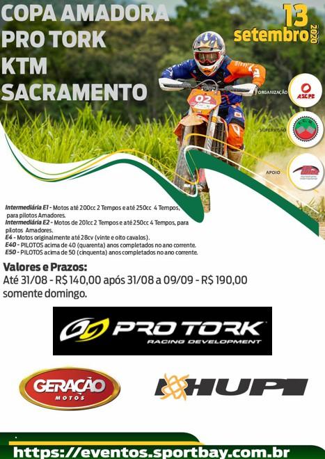 1ª Etapa Copa Pro Tork / KTM Sacramento de Enduro
