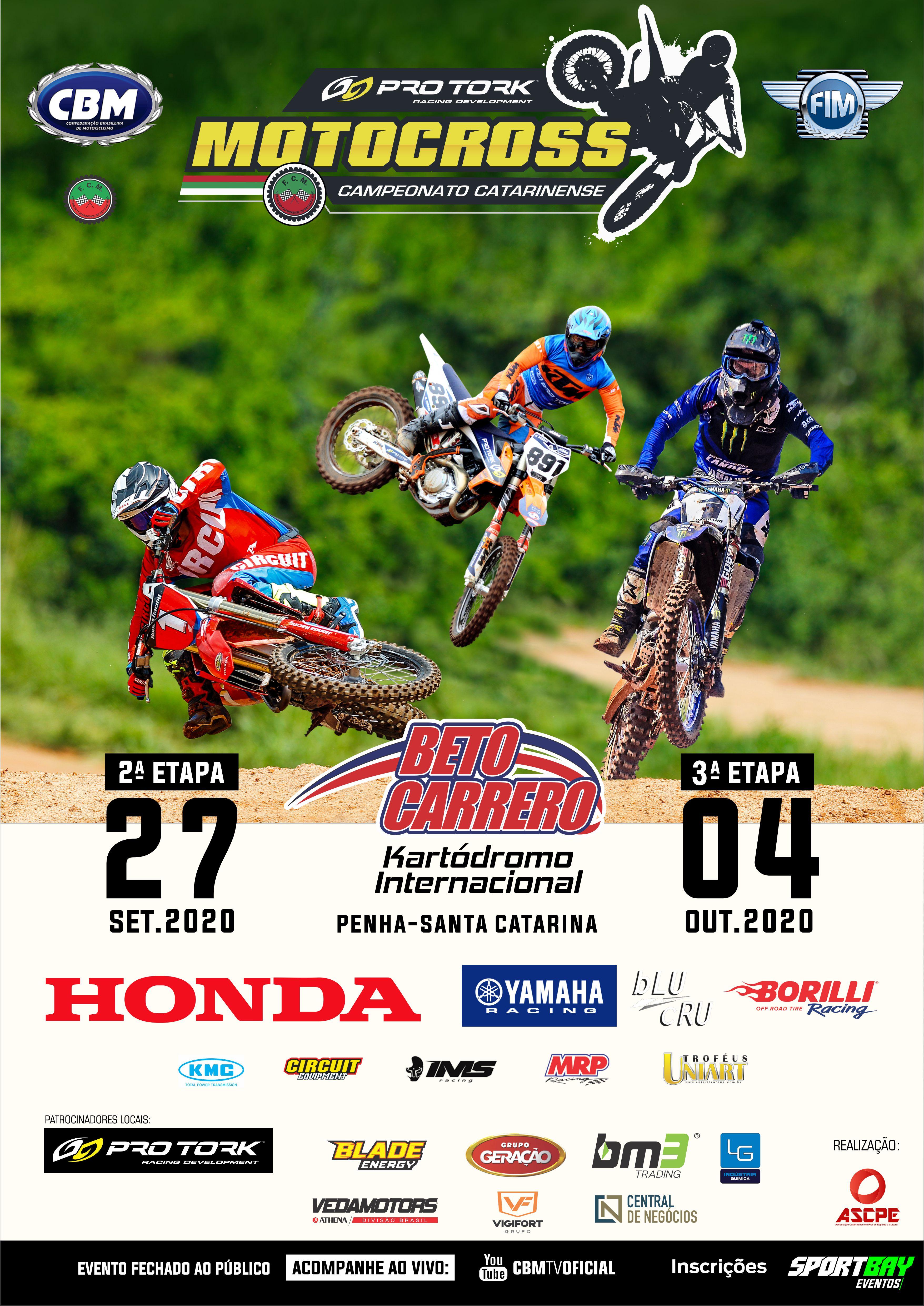 Campeonato Catarinense de Motocross 2ª e 3ª Etapas