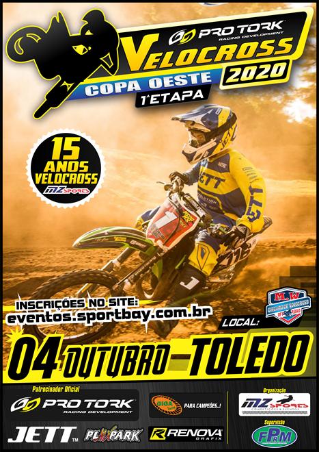 Copa Oeste de Velocross 2020 1ª Etapa