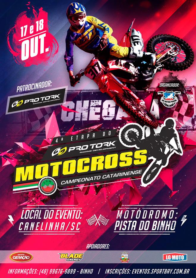 Campeonato Pro Tork Catarinense de Motocross - 4ª Etapa