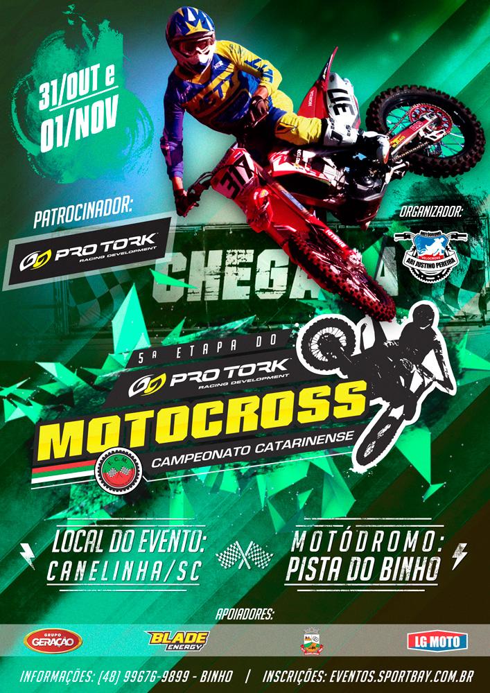 Campeonato Pro Tork Catarinense de Motocross - 5ª Etapa