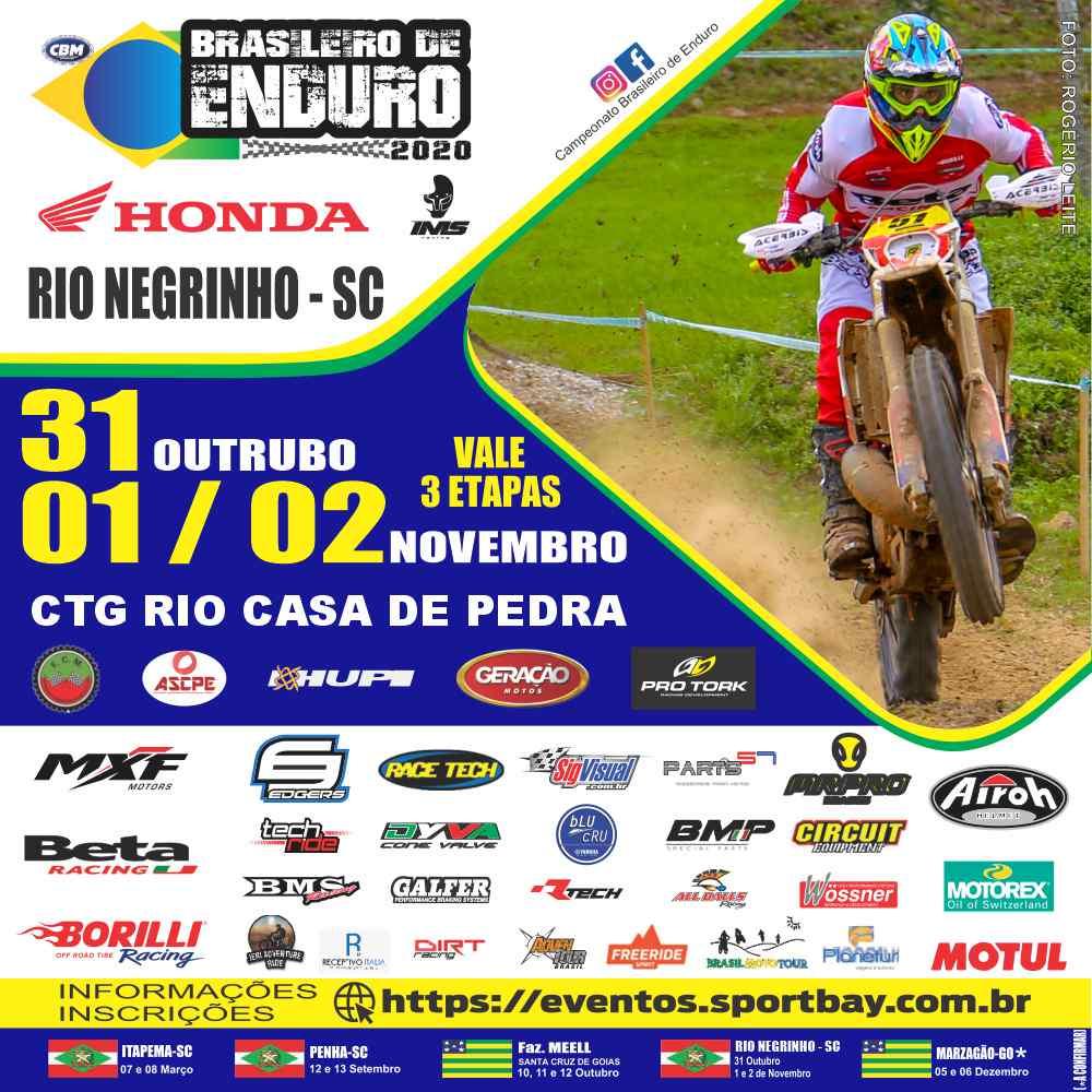 8ª, 9ª e  10ª Etapas do Campeonato Brasileiro de Enduro