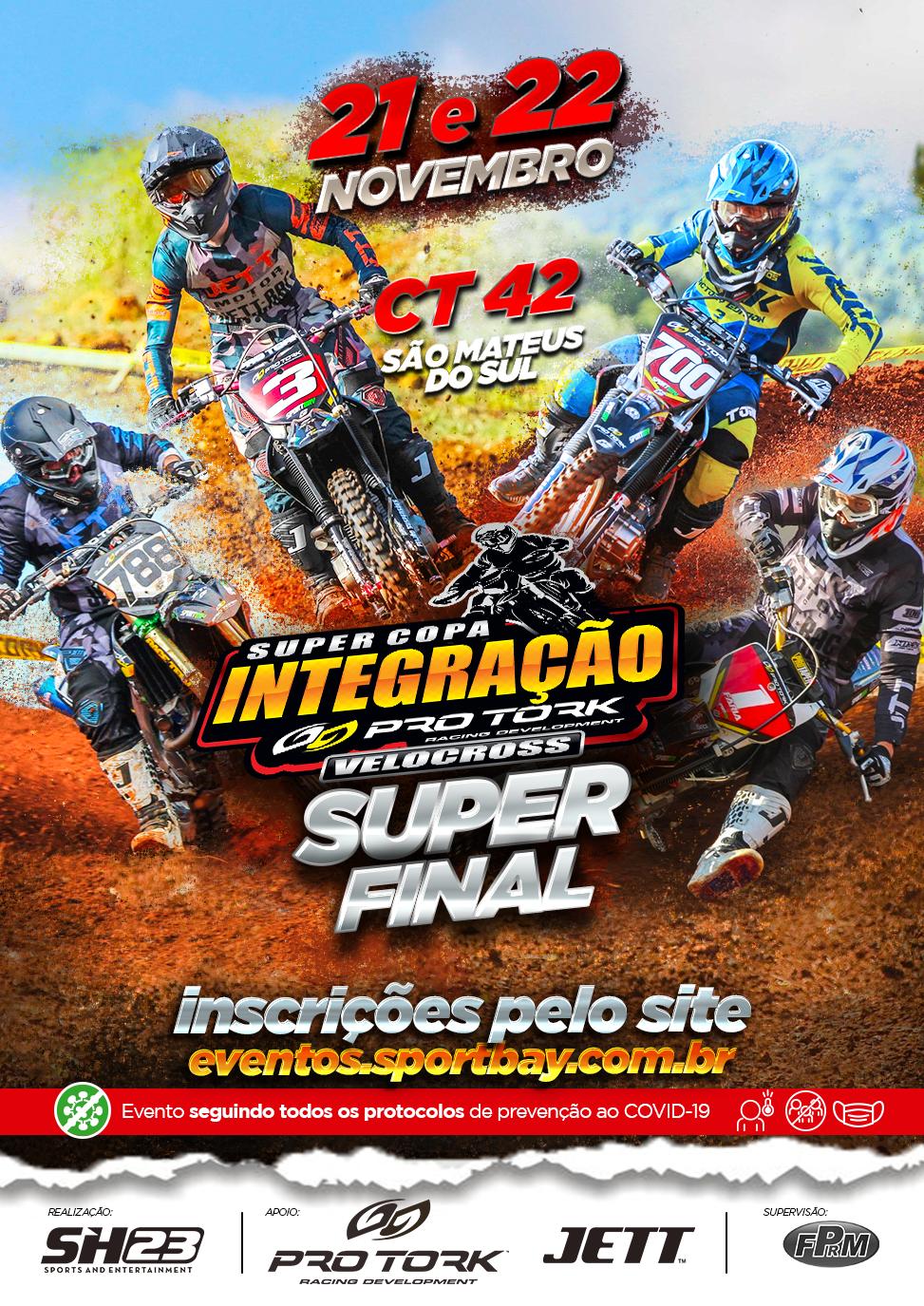 Super Final da Super Copa Integração Pro Tork de Velocross