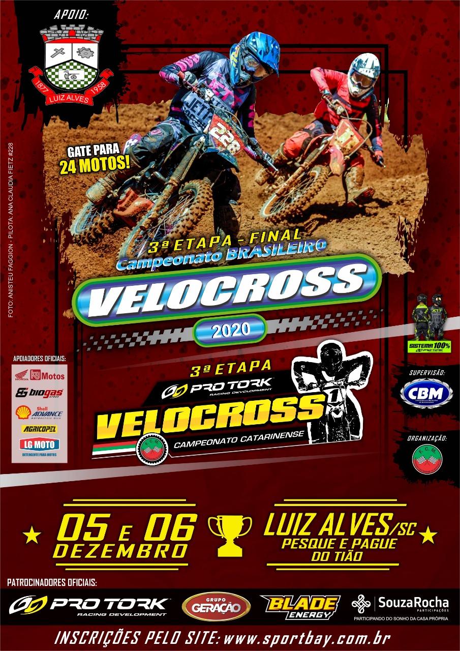 3ª Etapa Campeonato Catarinense e Final do Brasileiro de Velocross