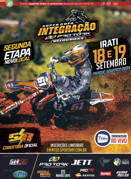 2ª Etapa - Super Copa Integração de Velocross