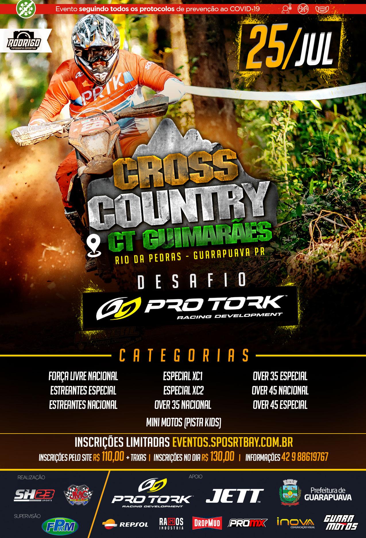 Desafio Pro Tork de Cross Country