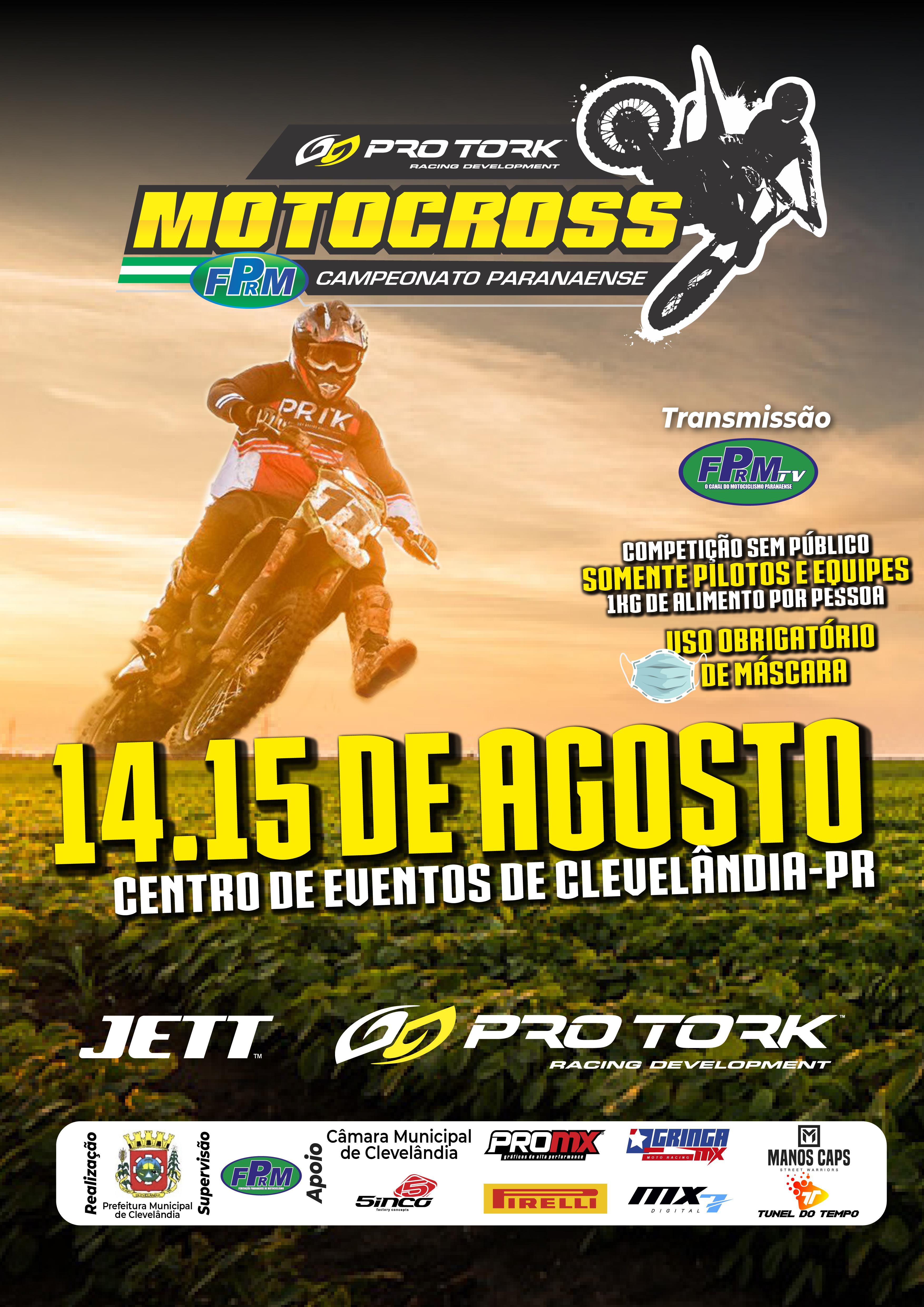 3ª Etapa Campeonato Paranaense de Motocross - Clevelândia